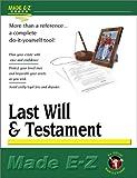 Made E-Z: Last Will & Testament (Made E-Z Guides)