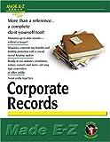 Made E-Z: Corporate Records Made E-Z (Made E-Z Guides)