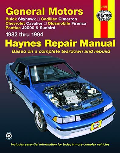 general-motors-j-cars-automotive-repair-manual-1982-through-1994-haynes-repair-manuals