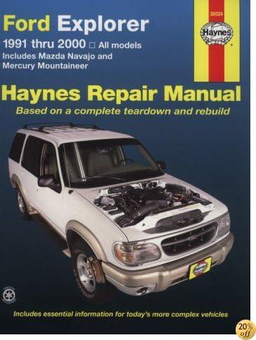 Ford Explorer & Mazda Navajo'91'00 (Haynes Repair Manual)