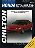 Maher, Kevin M. G.: Chilton's Honda Civic and Del Sol 1996-00 Repair Manual: Covers All U.S. and Canadian Models of Honda Civic and Del Sol