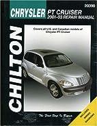 Chrysler PT Cruiser 2001-2003: Chilton's…