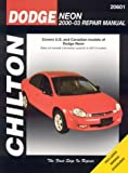 Warren, Larry: Dodge Neon 2000-2003 Repair Manual: Covers U.S. and Canadian Models of Dodge Neon