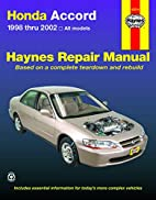 HONDA ACCORD 1998-2002 (Haynes Repair…