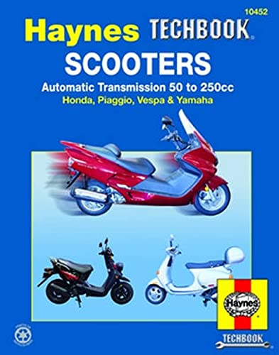 scooters-automatic-transmission-50-to-250cc-haynes-repair-manual-paperback