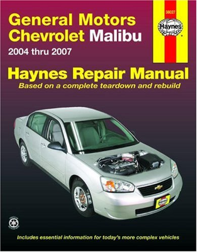 general-motors-chevrolet-malibu-2004-2007-automotive-repair-manual