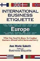 International Business Etiquette Europe:…