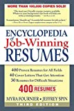 Fournier, Myra: Encyclopedia of Job-winning Resumes