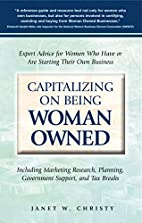 Capitalizing on Being Woman Owned: Expert…