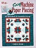 Doak, Carol: Easy Machine Paper Piecing