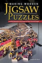 Making wooden jigsaw puzzles by Charles W.…