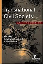 Transnational Civil Society: An Introduction…