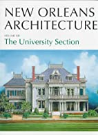 The University Section (New Orleans…