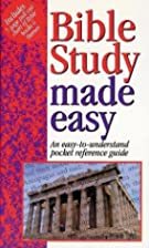 Bible Study Made Easy by Mark Water