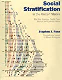 Rose, Stephen J.: Social Stratification in the United States : The American Profile Poster