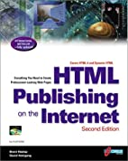 HTML Publishing on the Internet, Second…