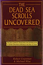 The Dead Sea Scrolls Uncovered by Robert H.…