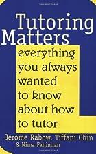 Tutoring Matters: Everything You Always…