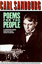 Poems for the People by Carl Sandburg