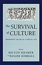 The Survival of Culture: Permanent Values in…