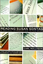 Reading Susan Sontag: A Critical…