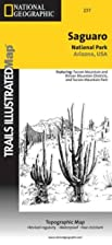 Trails Illustrated Map: Saguaro National…