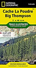 Trails Illustrated Map: Cache La Poudre, Big…