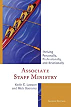 Associate Staff Ministry: Thriving…