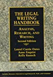 Enquist, Anne: The Legal Writing Handbook: Research, Analysis, and Writing