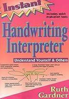 Instant Handwriting Interpreter: Understand…