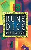 Tyson, Donald: Rune Dice Divination Book