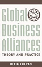 Global Business Alliances: Theory and…