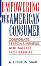 Empowering the American Consumer: Corporate…
