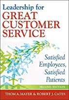 Leadership for Great Customer Service:…