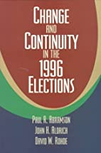Change and Continuity in the 1996 Elections…