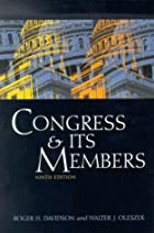 Congress and Its Members by Roger H.&hellip;
