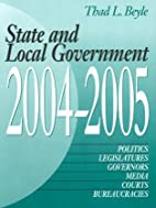State and Local Government 2004-2005 (State…