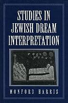 Studies in Jewish Dream Interpretation by…