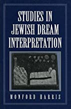 Studies in Jewish Dream Interpretation by…