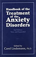 Handbook of the Treatment of the Anxiety…