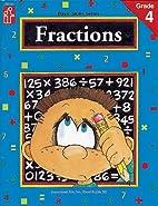 Fractions, Grade 4 by Bill Linderman