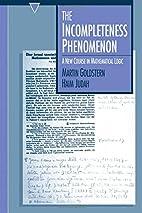 The Incompleteness Phenomenon: A New Course…