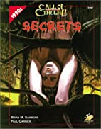 Secrets by Brian M. Sammons