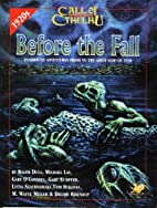 Before the Fall: Innsmouth Adventures Prior…