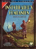 Keith Herber: The Investigator's Companion: A Core Game Book for Players (Call of Cthulhu roleplaying)