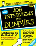 Joyce Lain Kennedy: Job Interviews for Dummies (For Dummies Series)