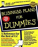 Tiffany, Paul: Business Plans For Dummies