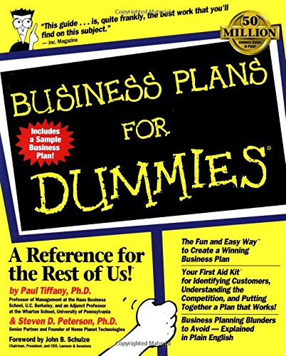 business-plans-for-dummies-for-dummies-lifestyles-paperback