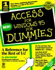 Kaufeld, John: Access for Windows 95 for Dummies (For Dummies (Computer/Tech))