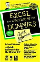 Excel for Windows 95 for Dummies: Quick…